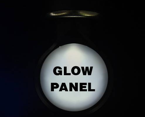 USB-charger-glowing-panel