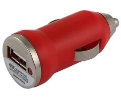red usb car adapter charger