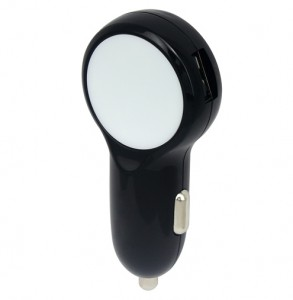 Black-USB-car-charger-upright